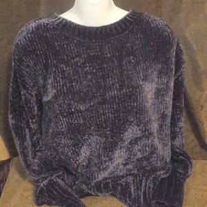 Philosophy chenille sweater size s